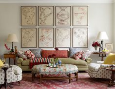 Eclectic granny chic