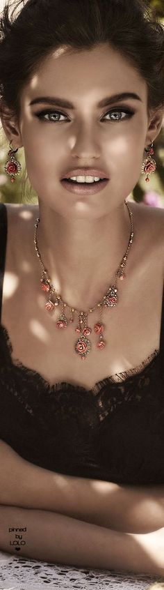 Bianca Balti for Dolce & Gabbana Jewelry