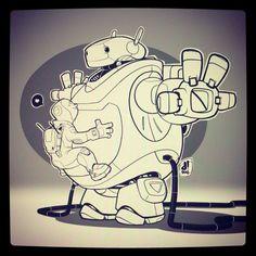 robotsareawesome. instagram: chocolatesoop