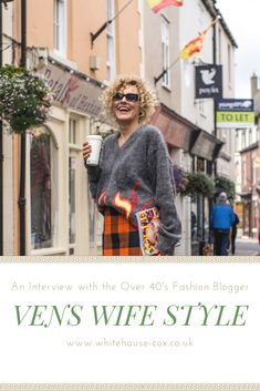 Renia Jaz, the style guru behind Vens Wife Style who is defying all age stereotypes in the fashion industry. Fashion Articles, Fashion Advice, 40s Fashion, Fashion Outfits, Autumn Outfits, Going Out, Age, Journal, Style Inspiration