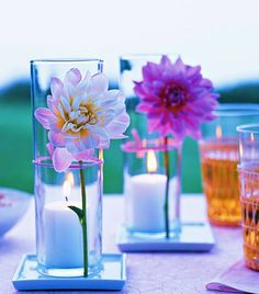 a beautiful clichewedding table decoration