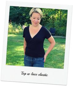 Rachel Pattern Hack: Top with lace elastic