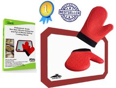 Best Buy Silicone Bake Mat/ Cookie Sheet Liner with Free-Bonus Oven-BBQ Mitts/ Potholders Professional Baking Supplies/ Accessories Set, Full Size, #1 Premium Non Stick 3 Pack Red - Read Our Rave Reviews: http://www.amazon.com/review/R3FFOZJGXS11PV/ref=cm_cr_rdp_perm?ie=UTF8&ASIN=B00Q3VQ2K2