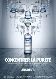 Absolut - Concentrer la pureté