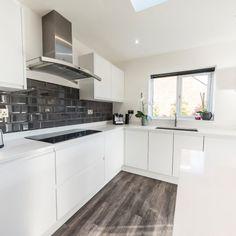 Bianco Puro - Bushey, Hertfordshire - Rock and Co Granite Ltd White Quartz, Work Tops, Granite, Kitchen Cabinets, Pure Products, Rock, Home Decor, Decoration Home, Room Decor