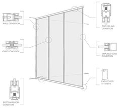 fixed window section detail dwg - بحث Google‏