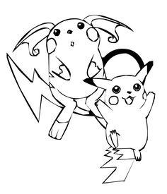 Pokemon | Dibujos para colorear e imprimir. Colorear dibujos