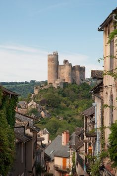Najac Castle, France