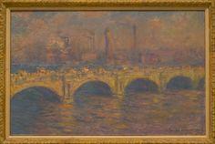 Claude Monet at the Carnegie Museum of Art, Pittsburgh, Pennsylvania