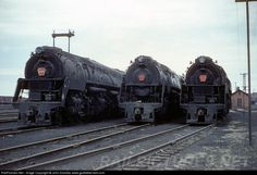 RailPictures.Net Photo: PRR 6195 Pennsylvania Railroad Steam 4-4-6-4 at Crestline, Ohio by John Dziobko www.godfatherrails.com