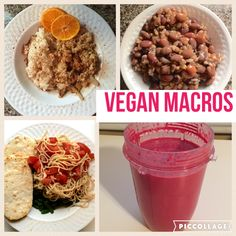 Vegan Macros - Full Day of Eating Vegan IIFYM - HollyBrownFit.com