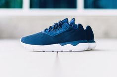 adidas Originals Tubular Runner Weave 深藍配色