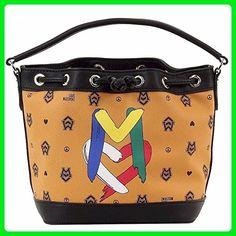 849f3dcc1a Love Moschino Women's Camel Logo Bucket Satchel Handbag - - HANDBAGS - The  brand was originally created in 1983 by Franco Moschino.