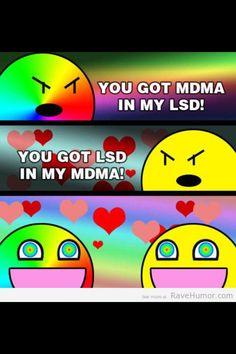 MDMA vs LSD