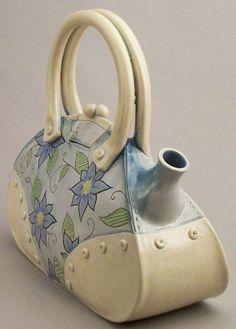"""""""Tea Bag"""" - large floral"""