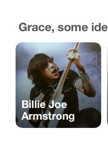 Yes, I love Billie Joe Armstrong.(I actually do but this is Frank Iero)