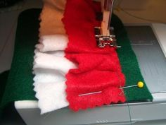 Easy to Make Felt Stockings: FOUR Sizes!