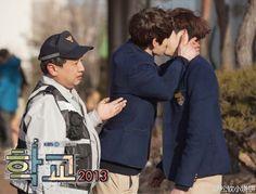 OMG..you can kiss me not him..waa