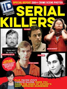 Investigation Discovery's Candice DeLong & Michelle Ward, dive into the mental psyche of the most dangerous Serial Killers: John Wayne Gacy Jr. John Wayne Gacy, Investigation Discovery, Zodiac Killer, True Crime Books, Star Magazine, Ted Bundy, Discovery Channel, Great Tv Shows, Serial Killers