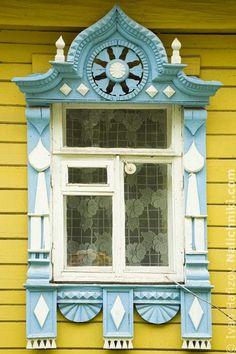 Village Borisoglebsky №13  (Резной наличник Поселка Борисоглебского №13)