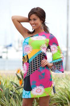 Molly One-Shoulder Dress By Tracy Negoshian
