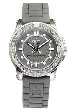 Juicy Couture grey watch