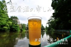 桜の季節以外も気持ち良い公園昼酒(武蔵関公園)
