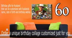 Find Personalized Ideas About Surprise 60th Birthday Gift For Husband The Right Most