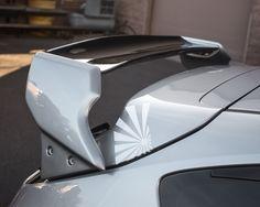 BlackTop Aero Double Deck Wing Spoiler Subaru WRX Hatchback 08-12