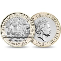 Commemorate the Great Fire of London with this superb Brilliant Uncirculated coin from The Royal Mint®. Discover the design and choose your coin here. Great Fire Of London, The Great Fire, Old Coins Value, English Coins, All Currency, Coin Values, Uncirculated Coins, Proof Coins, Coin Ring