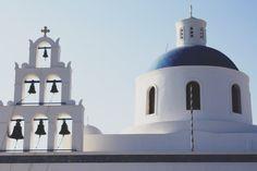 Santorini church bells