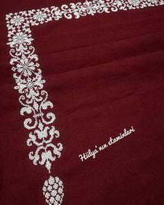 Cross Stitch Flowers, Cross Stitch Patterns, Ethnic Bag, Cross Stitching, Borneo, Embroidery, Diamond, Jewelry, Cross Stitch