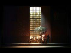 Henri Sauguet's La chartreuse de Parme from Opera de Marseille. Production by Renée Auphan. Sets by Bruno de Lavenère.