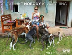 """""""Eat like Nobody is watching"""" OH HAPPY GREY BY VIGO PHOTOGRAPHY"""