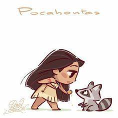 Pocahontas ( Pochontas, une légende indienne)