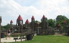 With deluxe, state-of-the-art play structures and lots of space to run these Indiana playgrounds are sure to bring out the inner child in everyone.