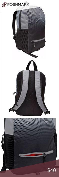 new concept 9a676 abbd9 Genuine AIR JORDAN Daybreaker Bag Cool Grey Gym Bag Drawstring Sack
