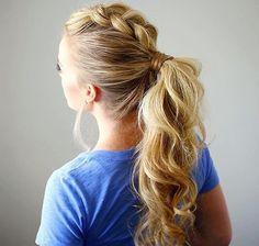 Cute up do for long hair