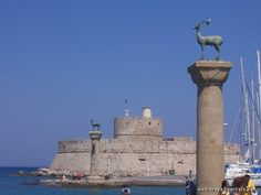 Wonder of the Ancient World - Colossus of Rhodes
