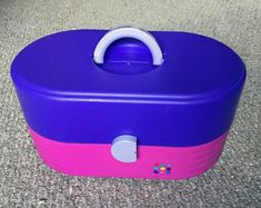 This Caboodle from the early in pink and purple.Great shape with light wear.Please check out my store for other vintage toys and electronics.Comes from pet free and smoke free home. Michael Christmas, Cosmetic Case, Vintage Toys, Pink Purple, Cosmetics, Smoke Free, Shape, Electronics, Etsy