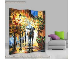 Painting, Rain, Couple, Painting Art, Paintings, Painted Canvas, Drawings