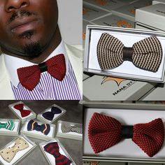 Re-introducing a boost to your holiday style with Nana Styles imperial Bowties nanastyles.com