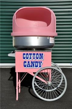 Totally gonna rent one for party and have shots of vodka on the side to make cotton candy shots! 21st Party, 40th Birthday Parties, 4th Birthday, Candy Dispenser, Pink Love, Pretty In Pink, Moonwalk Rentals, Candy Shots, Russell Hobbs