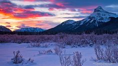 Pilot Mountain, Banff N.P., Alberta #SunKuWriter #Portugal FREE Books ► http://Sun-Ku.com ◄