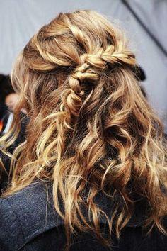 half side braid | hair