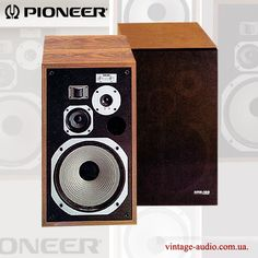 Pioneer HPM-100 Monitor Speakers, Stereo Speakers, Vintage Market, Vintage Ads, Pioneer Audio, Hifi Audio, Loudspeaker, Audio Equipment, Audiophile