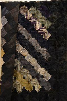 TomieNaganoLogCabin_C   Flickr - Photo Sharing! wonderful textures