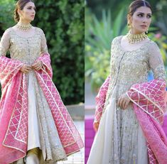 Bride/ grooms sisters Mehndi outfit Inspo Party Wear Indian Dresses, Pakistani Fashion Party Wear, Dress Indian Style, Pakistani Wedding Dresses, Indian Wedding Outfits, Pakistani Outfits, Bridal Outfits, Simple Pakistani Dresses, Pakistani Dress Design