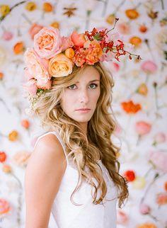 Floral #crown by Ali Harper