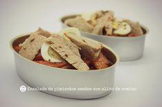 Jugando a las cocinitas: Ensalada de pimientos asados con aliño de comino
